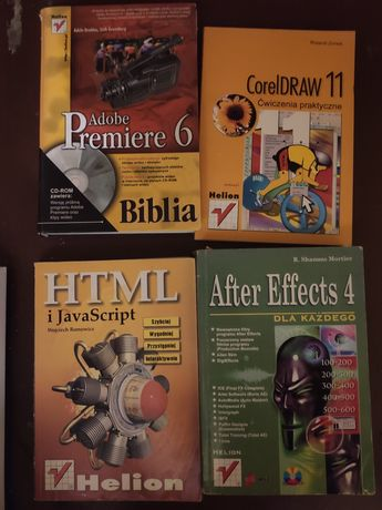 Książki IT - Adobe Corel HTML JS