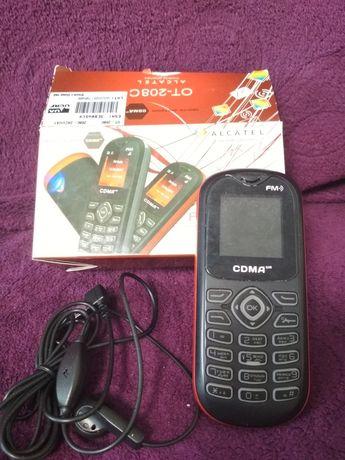Телефон CDMA ALCATEL OT-208C без зарядного