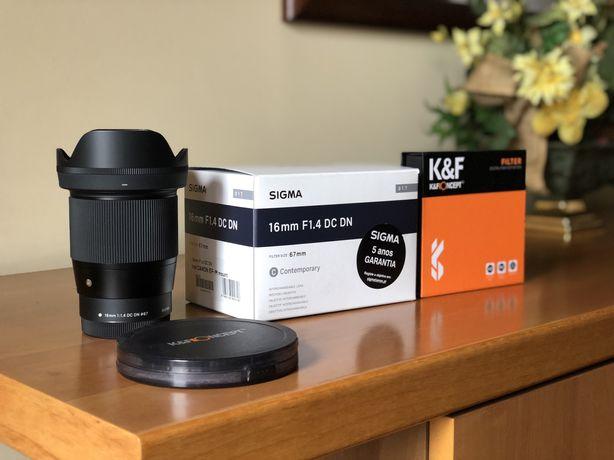 Sigma 16mm f/1.4 DC DN Contemporary ( Canon EF-M)