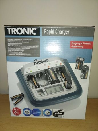 Ładowarka TRONIC do akumulatorków Ni-MH, Ni-Cd