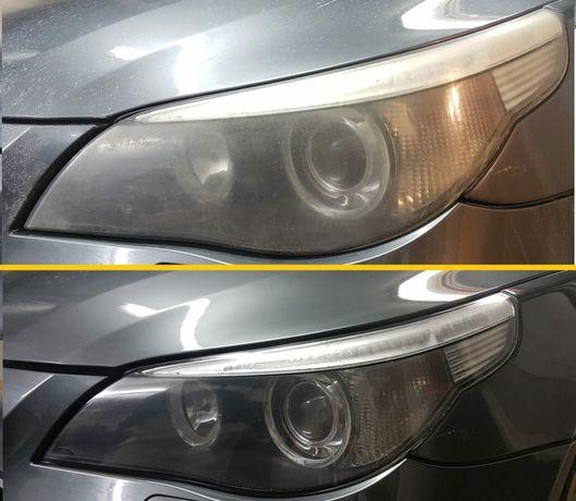 Polerowanie Lamp Reflektorów Samochodowych