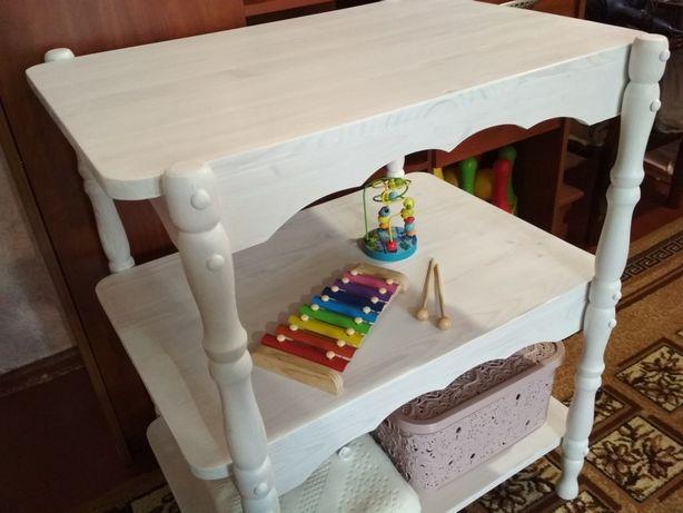 Пеленальный столик, пеленатор, этажерка