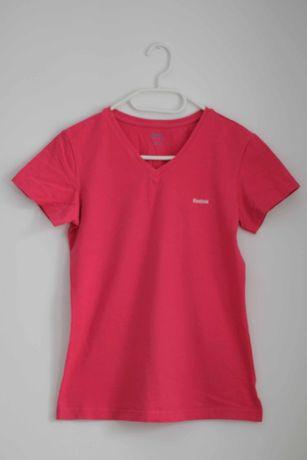 Różowy t-shirt koszulka z krótkim rękawem sportowa Reebok M 38