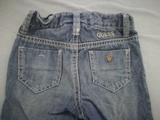 Spodnie cienki jeans guess 12 do 24 miesięcy