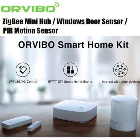 NOVO! ORVIBO zigbee TRIO casa Inteligente Homemate Alexa Google home