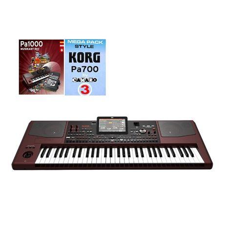 KORG PA1000 - HDMI + PS3 + style + pakiet Musikant