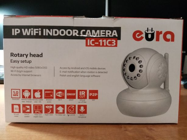 Kamera IP - WiFi Eura IC11C3