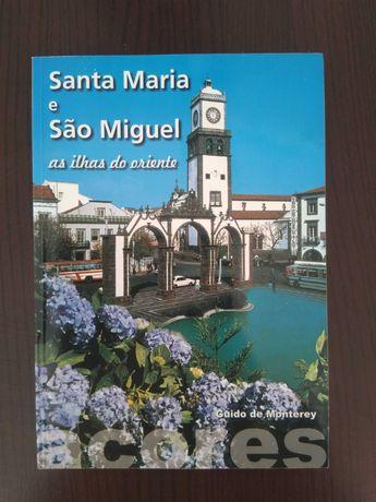 """Livro Açores - Santa Maria e São Miguel """" As ilhas do Oriente"""" (Novo)"""