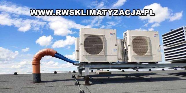 Klimatyzacja, pompy ciepła - serwis, naprawa, montaż