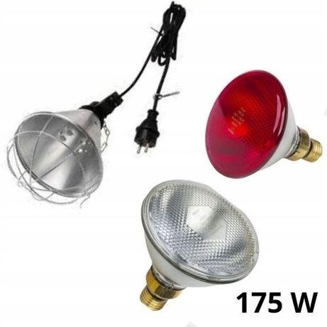 Lampa grzewcza sztuczna kwoka + promiennik