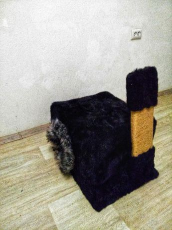 Когтеточка Кошачий домик Дом для кота Собачья будка