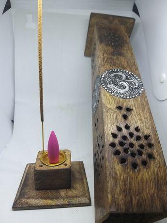 Torre de fumo em madeira OM