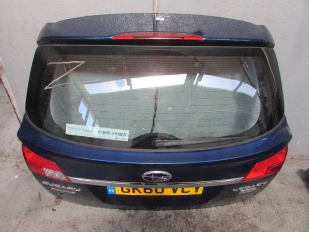 Разборка Subaru Outback Четверть крышка багажника фонарь бампер панель
