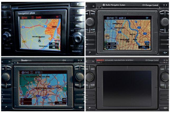 Mapa nawigacji DX Audi A6 A8 Volkswagen Passat VW Skoda Superb Seat