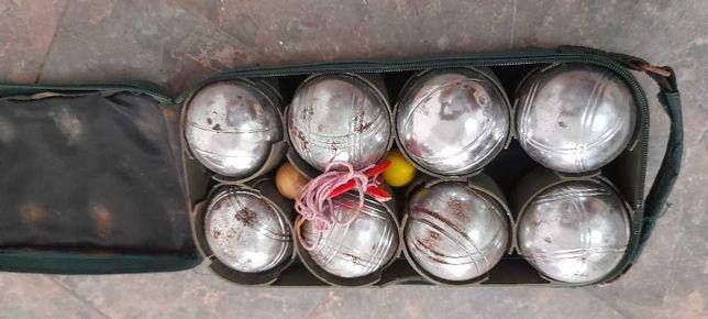 Vendo conjunto de bolas de petanca