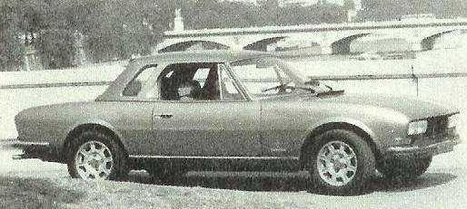 Hardtop para peugeot 504 Cabrio