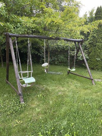 Huśtawka ogrodowa na ogród dla dzieci