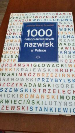 1000 najpopularniejszych nazwisk w Polsce