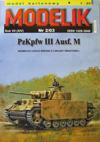 Modelik 2/03 Pzkpfw III Ausf.M