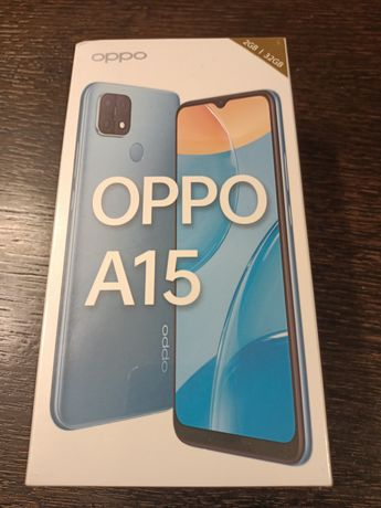 Sprzedam telefon Oppo A15 (czarny) fabrycznie nowy.