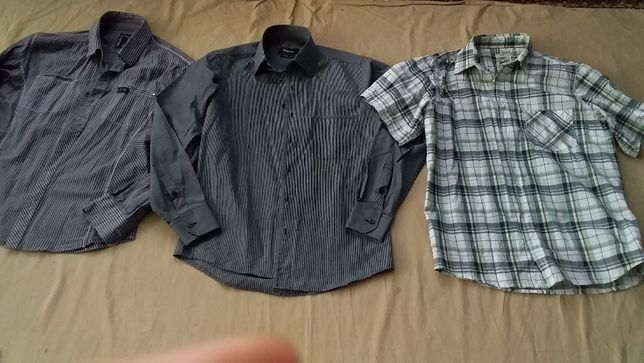 Рубашка школьная для мальчика-старшоклассника slim fit;Collection-46,4