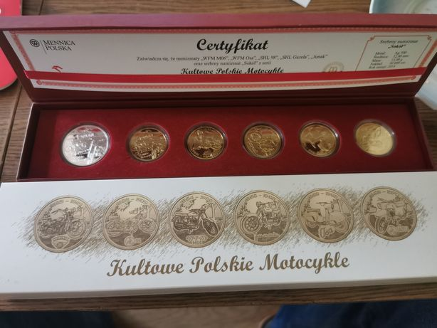 Kultowe polskie motocykle numizmaty