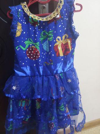 Платье праздничное новогоднее