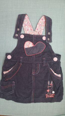 Sukienka sztruksowa dla dziewczynki roz. 74 Cool Club Smyk idealna