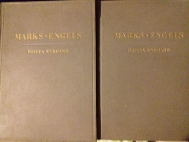K.Marks F.Engels Dzieła wybrane w 2 tomach KiW 1949