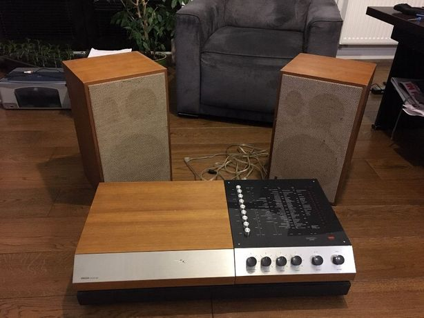WEGA 3204 Gramofon + kolumny HECO SM 35