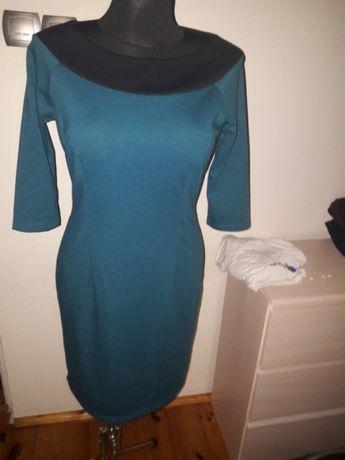 Wizytowa elegancka sukienka M/L