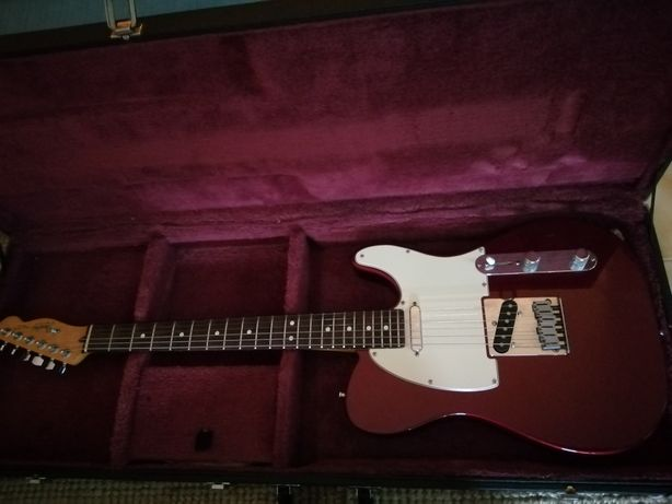 Fender Telecaster vintage Made in USA '88/89 candy apple red