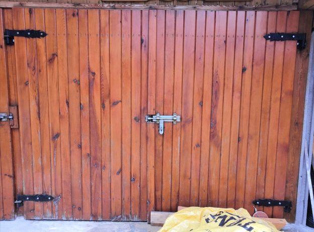 Brama garażowa (do garażu, drewniana)