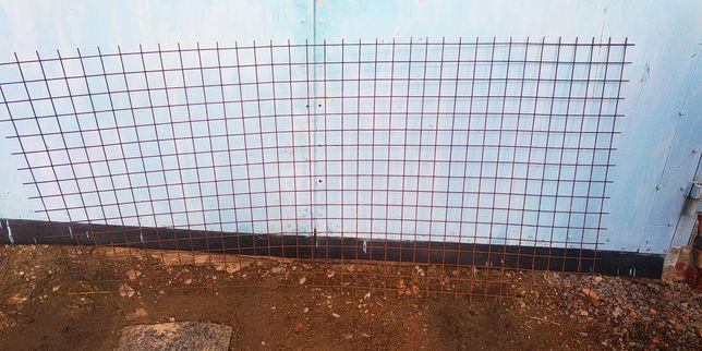 Сетка кладочная 50х50х4 мм 1,0х2,0 м
