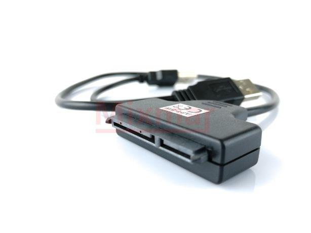 Kabel przejściówka adapter SATA USB dla dysku hdd ssd napęd optycznyg