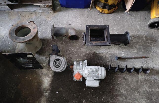 SAS 21kw palnik retortowy kompletny z PID , motoreduktor plus zasobnik