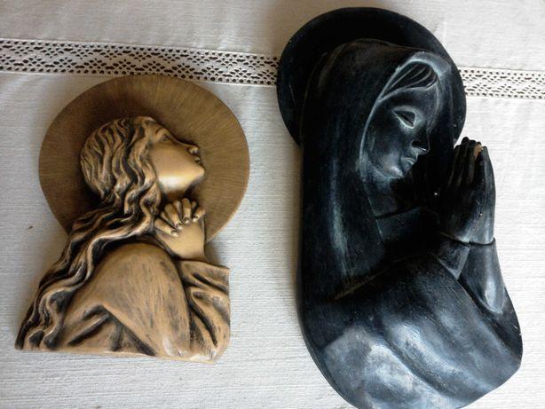 Imagens de santas em louça