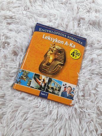 Leksykon A-Ka encyklopedia szkolna