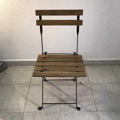 Cadeiras de Jardim em madeira desmontáveis