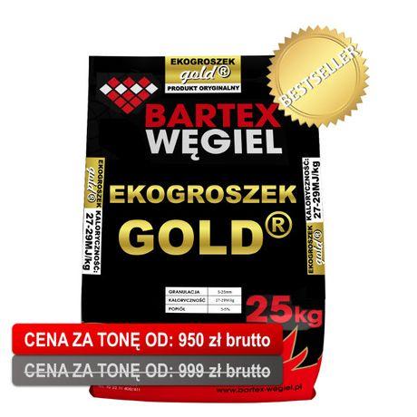 Ekogroszek Bartex Gold pelet Pellet Trak Garbatka węgiel drewno komink