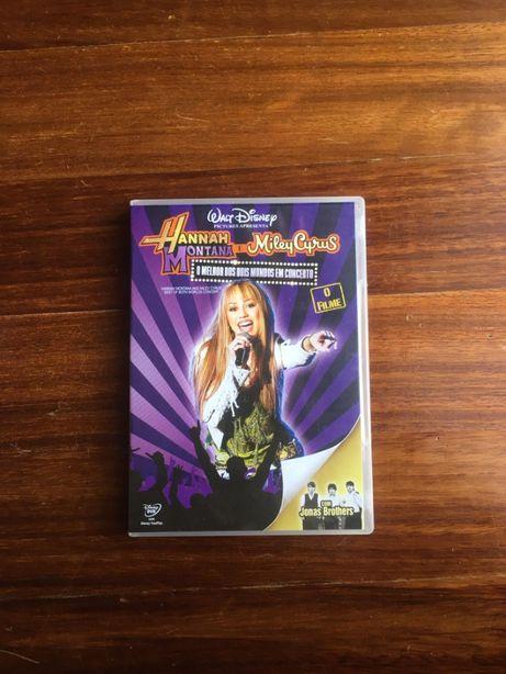 Hannah Montana e Miley Cyrus - O Melhor dos Dois Mundos DVD