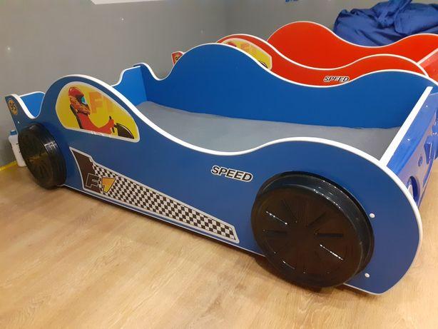 Łóżko auto dziecięce 90x180 JUŻ TYLKO NIEBIESKIE