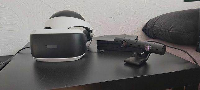 Gogle sony VR na ps 4 + kamerka