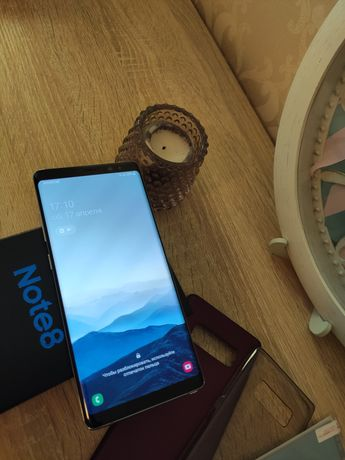 Samsung Note 8 6/64gb. Dual SIM. Идеал.