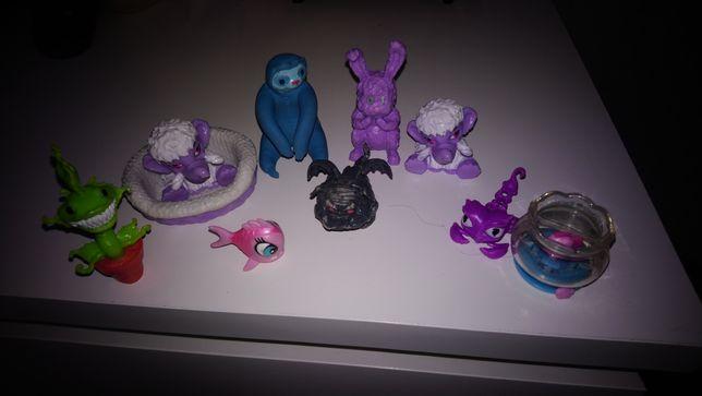 Zwierzaki do lalek Monster High 9 sztuk