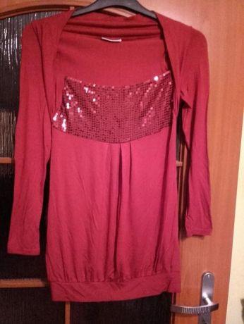 Bluzka czerwona rozmiar 40