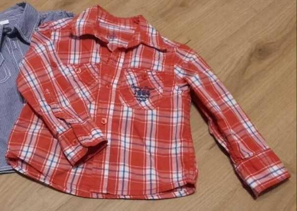 Koszula na długi rękaw r. 80