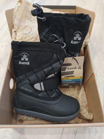 НОВЫЕ Зимние детские ботинки сапоги Kamik Skiland2 стелька 15,5 см