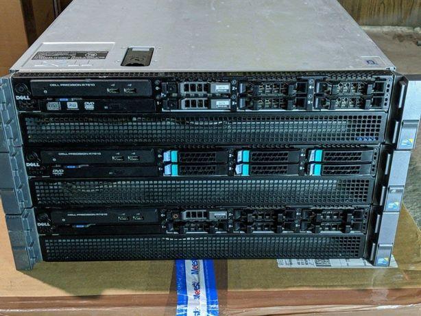 Сервер Dell R7610 2xE5-2650L/16/2x1100w Chia R720 HP DL380 G8 2011