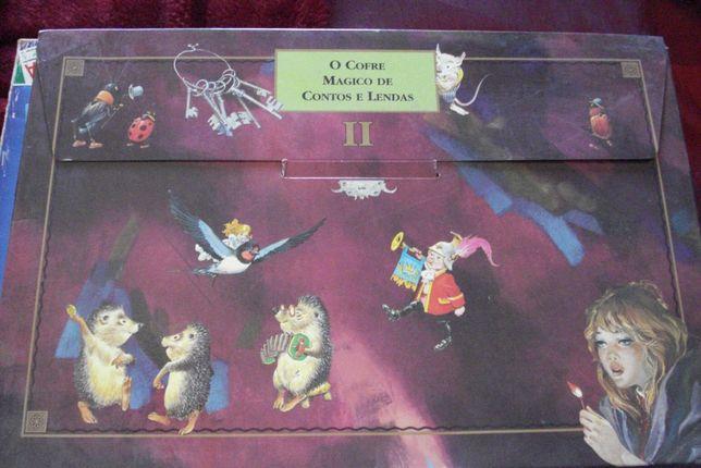 O cofre mágico de contos e lendas